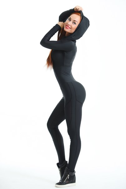 "Bona Fide: Oy - Vsyo Gym Suit ""Black"" 1"