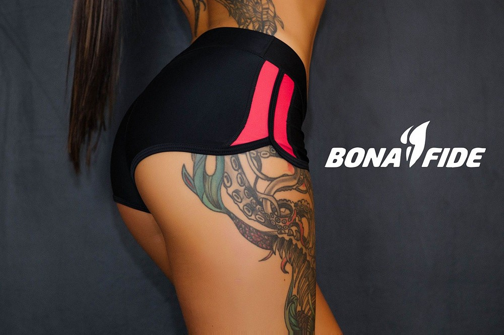 "Шорты Bona Fide: FuckNike Shorts ""Black & Red"" 17"