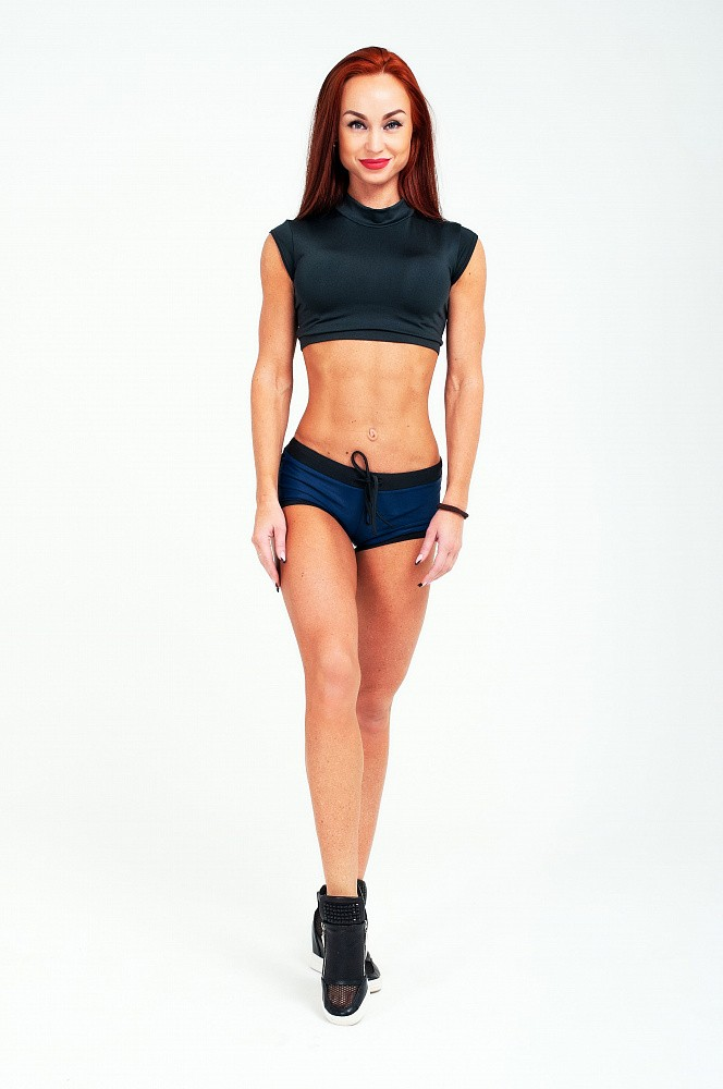 "Шорты Bona Fide: Shorts ""Total Blue & Black"" 1"