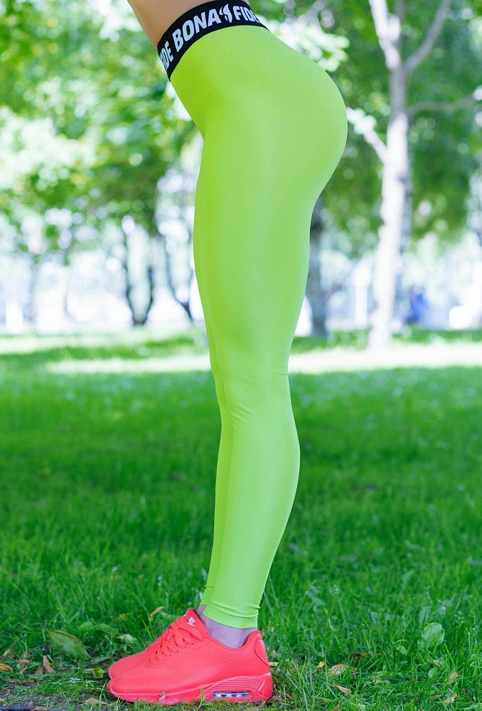 "Лосины Bona Fide: Bona GoldStandard  ""Light Green"" 3"