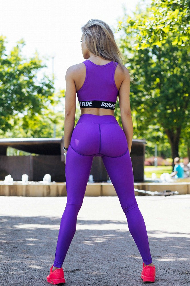 "Лосины Bona Fide: Push-Up ""Violet"" 1"