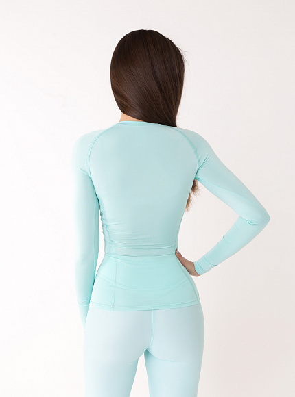 "Рашгард Bona Fide: Rashguard ""Light Mint"" 2"