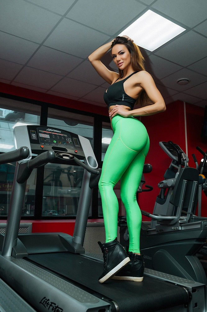 "Лосины Bona Fide: Push-Up ""Summer Green"" 2"