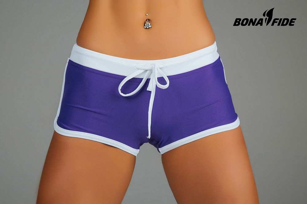"Шорты Bona Fide: Shorts ""Purple & White"" 3"