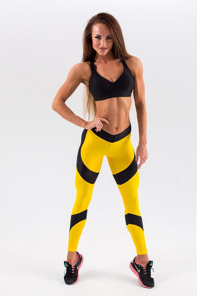 "Лосины Bona Fide: Lara Croft ""Yellow & Black"" 13"