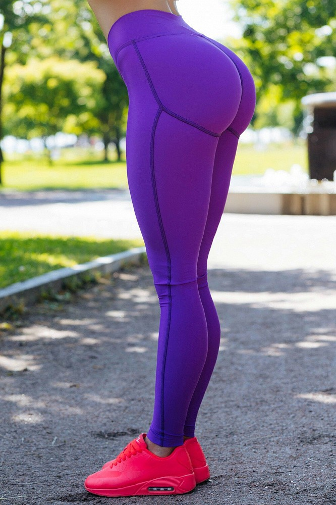 "Лосины Bona Fide: Push-Up ""Violet"" 4"