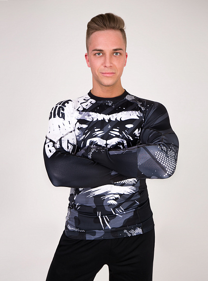 "Рашгард DICH: Rashguard ""MonkeyBusiness"" 1"