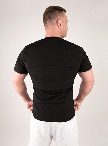 "Футболка DICH: Classic T-Shirt Black ""No Pain, No Gain"" 2"