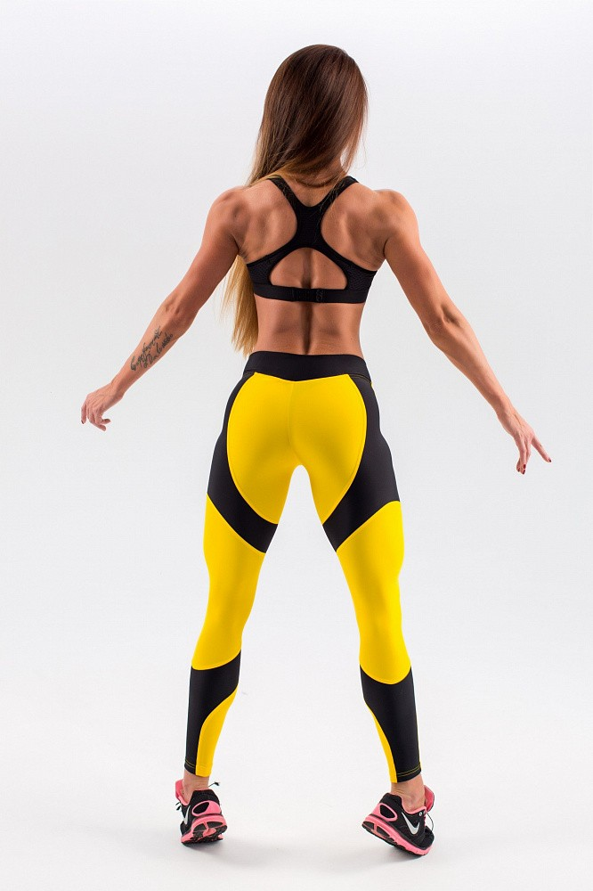 "Лосины Bona Fide: Lara Croft ""Yellow & Black"" 11"
