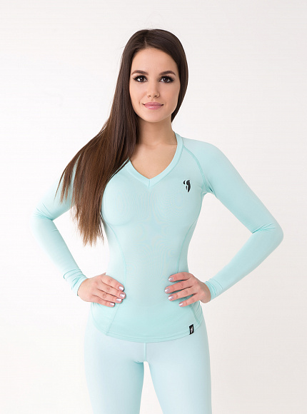"Рашгард Bona Fide: Rashguard ""Light Mint"" 4"
