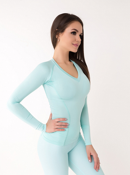 "Рашгард Bona Fide: Rashguard ""Light Mint"" 3"