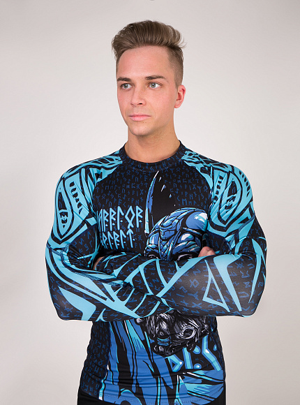 "Рашгард DICH: Rashguard ""Warrior Spirit"" 7"