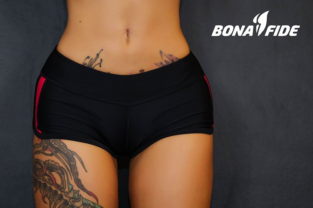 "Шорты Bona Fide: FuckNike Shorts ""Black & Red"" 16"