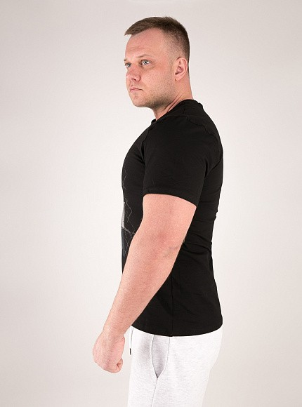 "Футболка DICH: Classic T-Shirt Black ""No Pain, No Gain"" 3"
