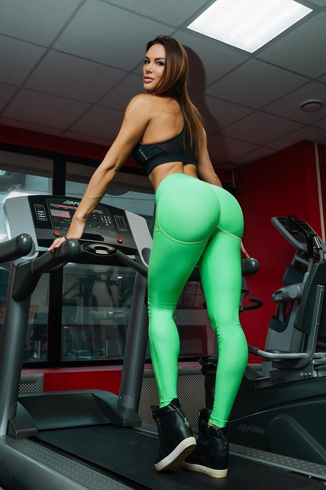 "Лосины Bona Fide: Push-Up ""Summer Green"" 1"