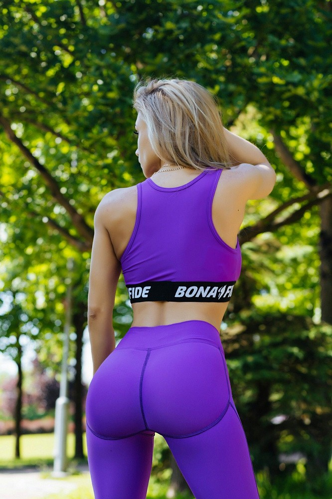 "Лосины Bona Fide: Push-Up ""Violet"" 2"