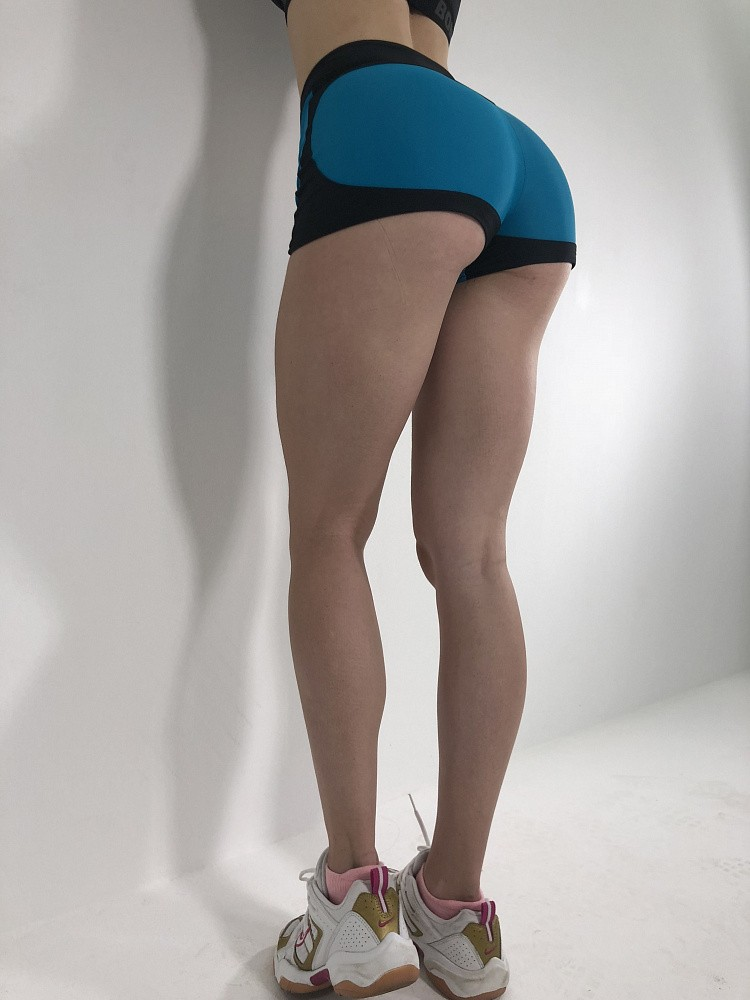 "Bona Fide: Mega Shorts ""Dark Mint & Black"" 3"