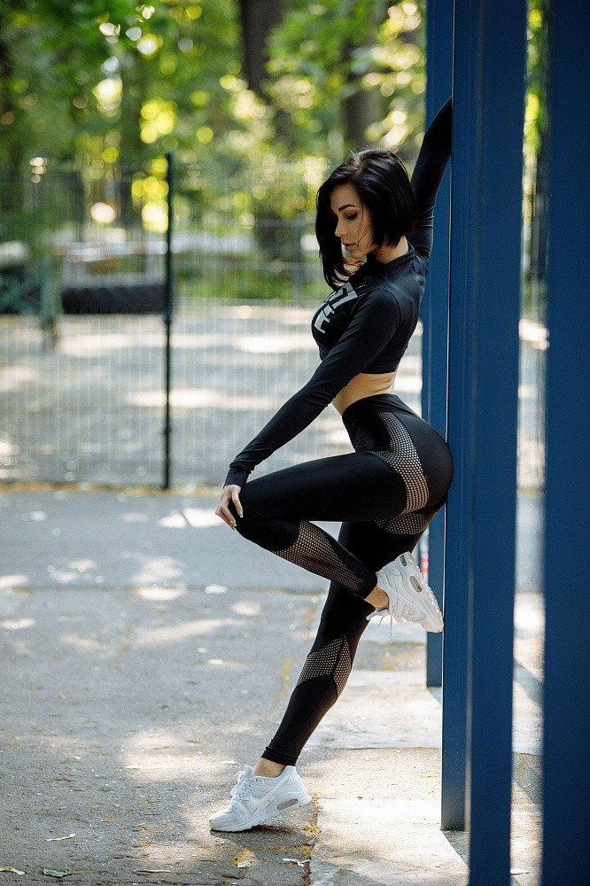 "Лосины Bona Fide: Lara Croft ""Total Black"" 2"
