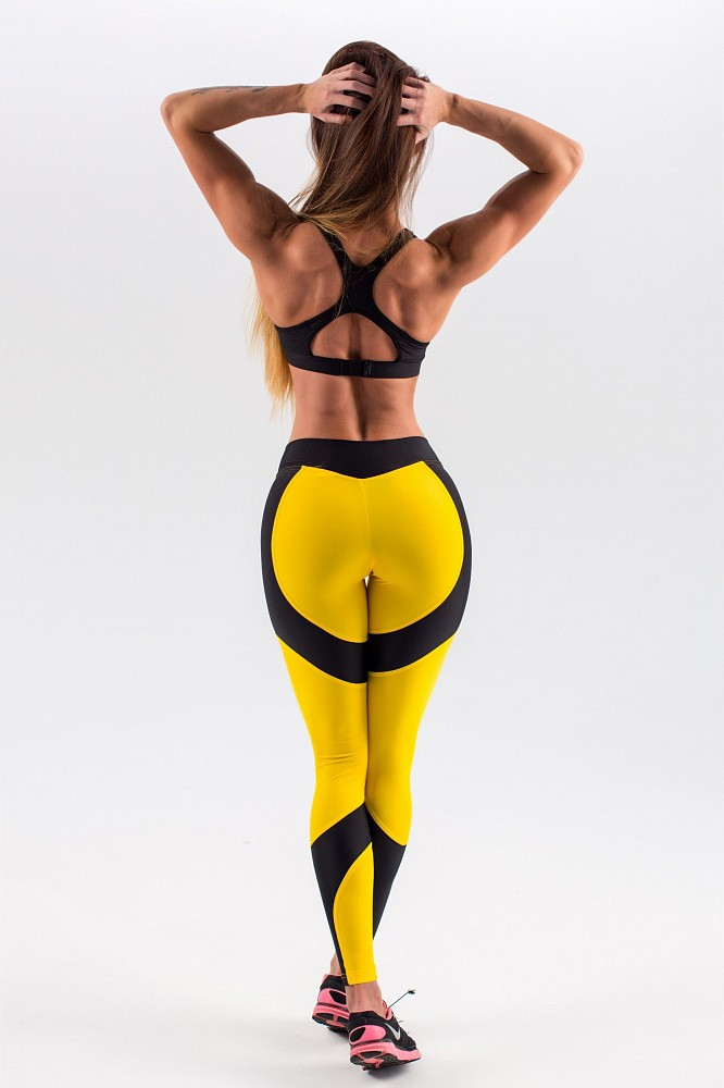 "Лосины Bona Fide: Lara Croft ""Yellow & Black"" 12"