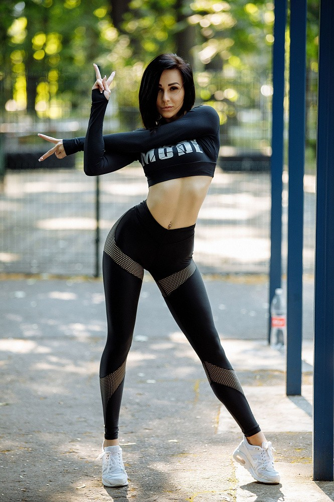 "Лосины Bona Fide: Lara Croft ""Total Black"" 1"