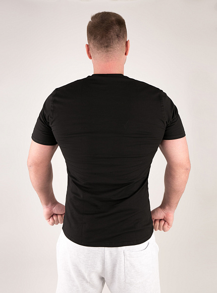 "Футболка DICH: Classic T-Shirt Black ""Gym Syndicate"" 5"