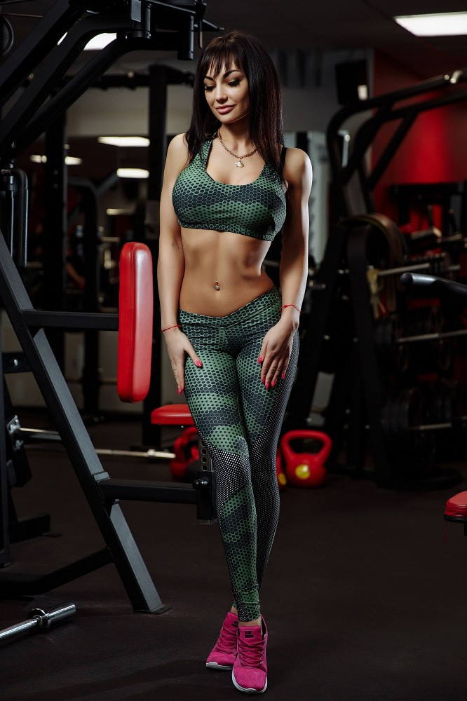 "Bona Fide: MuscleTop ""Green Grid"" 3"
